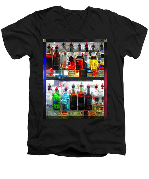 Liquor Cabinet Men's V-Neck T-Shirt