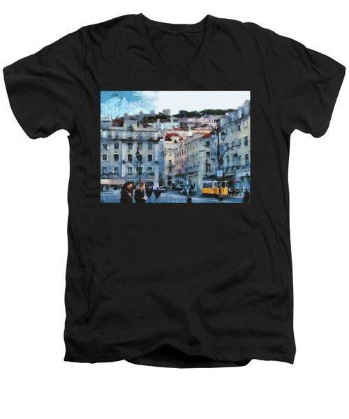 Lisbon Street Men's V-Neck T-Shirt