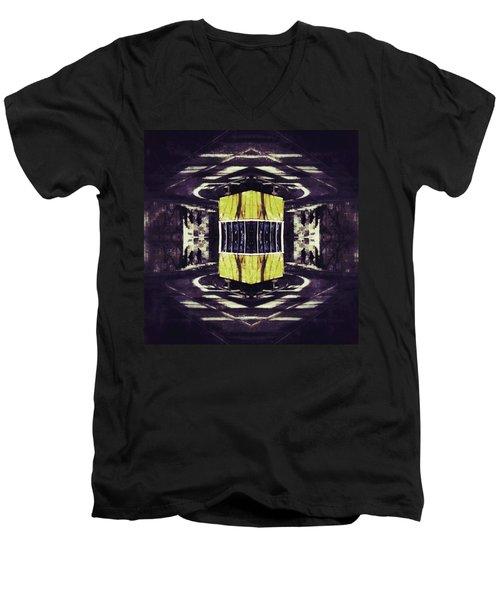 Lisbon Tram Men's V-Neck T-Shirt