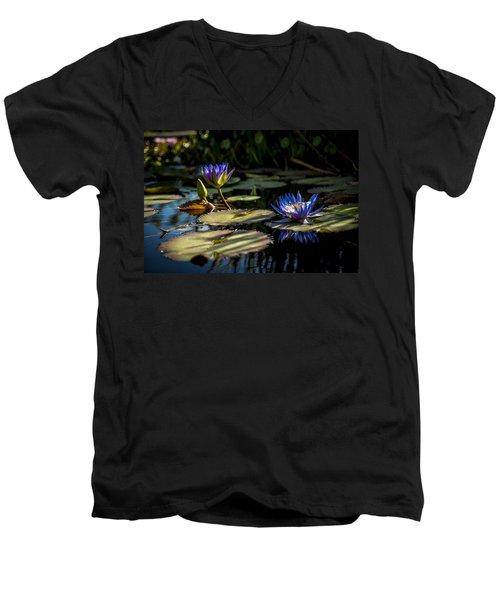 Lit From Within Men's V-Neck T-Shirt