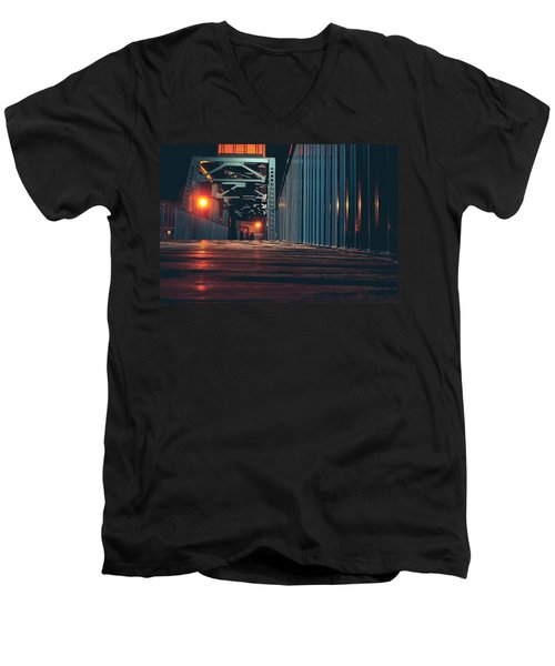 Lit Up Men's V-Neck T-Shirt