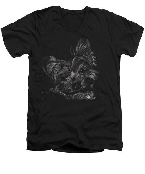 Little Cutey Men's V-Neck T-Shirt