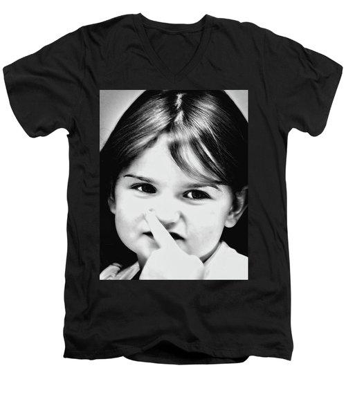 Little Emma Men's V-Neck T-Shirt