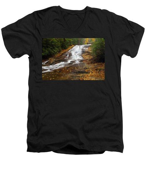 Little Fall Men's V-Neck T-Shirt