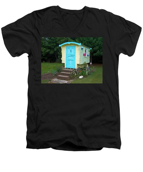 Little Gypsy Wagon II Men's V-Neck T-Shirt
