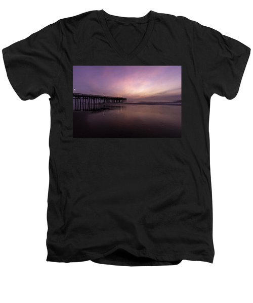 Little Island Sunrise Men's V-Neck T-Shirt