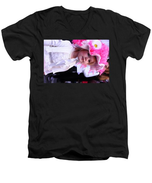 Little Princess  Men's V-Neck T-Shirt by Jeffson Chan