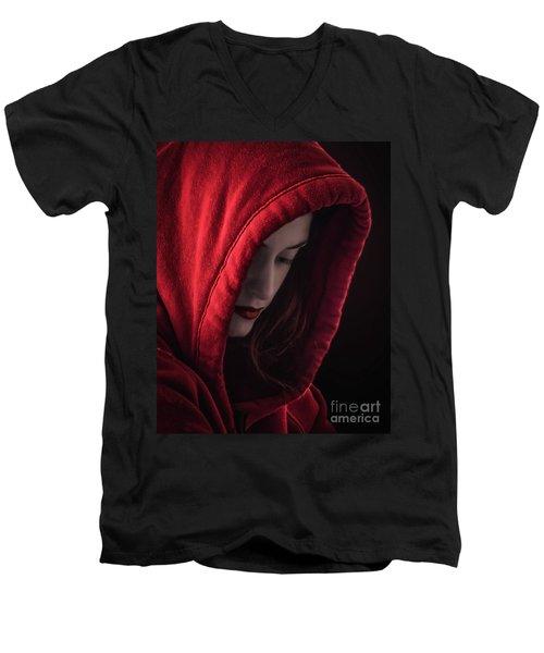 Little Red Riding Hood Men's V-Neck T-Shirt
