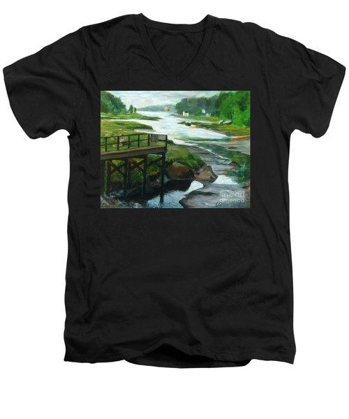 Little River Gloucester Study Men's V-Neck T-Shirt