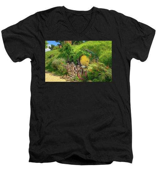 Little Yellow Door Men's V-Neck T-Shirt