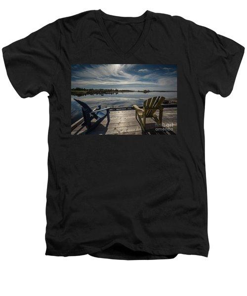 Live Your Dreams Men's V-Neck T-Shirt