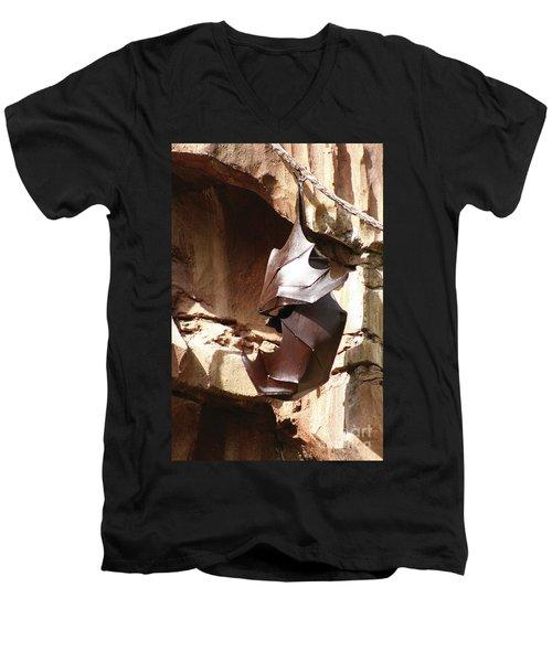 Living Sculpture Men's V-Neck T-Shirt by Alycia Christine