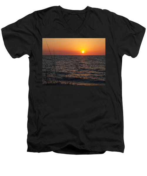 Men's V-Neck T-Shirt featuring the photograph Living The Life by Robert Margetts