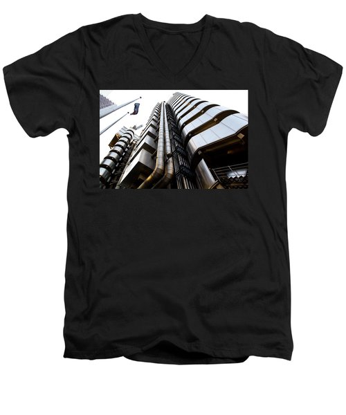 Lloyds Building London  Men's V-Neck T-Shirt