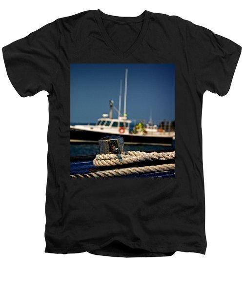 Lobster Boat I Men's V-Neck T-Shirt