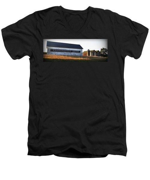 Logerquist Bros. Men's V-Neck T-Shirt