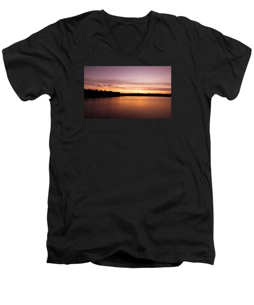 Lone Duck Men's V-Neck T-Shirt