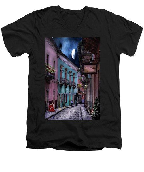 Lonely Street Men's V-Neck T-Shirt