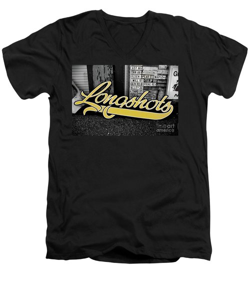 Longshots - Sign Men's V-Neck T-Shirt