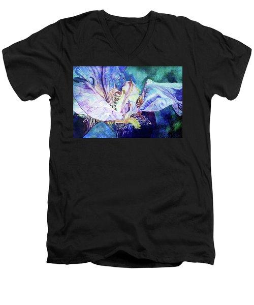 Lost Iris Passion 93 L_2 Men's V-Neck T-Shirt