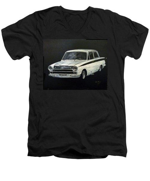 Lotus Cortina Men's V-Neck T-Shirt