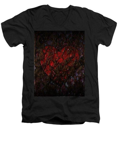 Love Buried Deep Men's V-Neck T-Shirt
