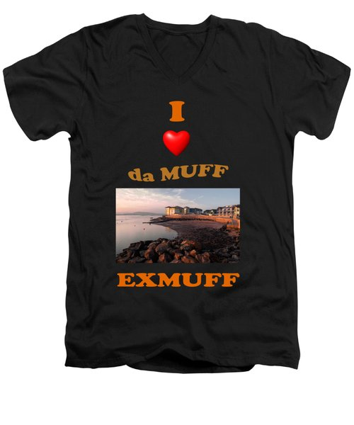 Love Da Muff  Men's V-Neck T-Shirt