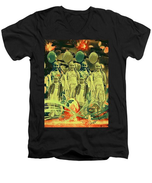 Love In The Age Of War Men's V-Neck T-Shirt