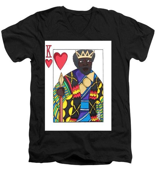 Love King Men's V-Neck T-Shirt