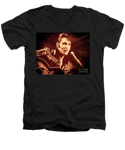 Love Me Tender Men's V-Neck T-Shirt