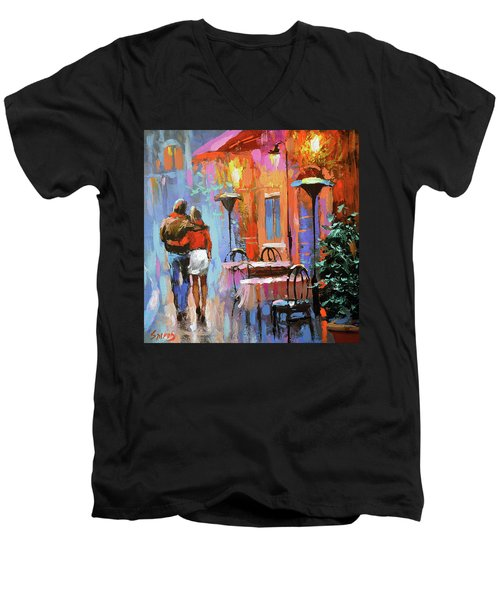 Love You Men's V-Neck T-Shirt