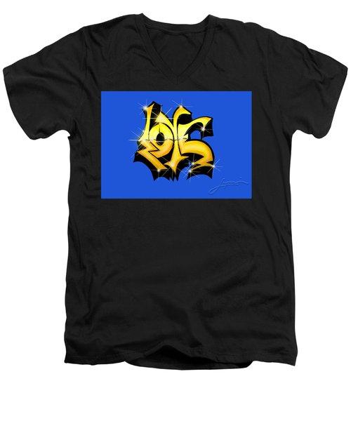 Love,love, Love Men's V-Neck T-Shirt