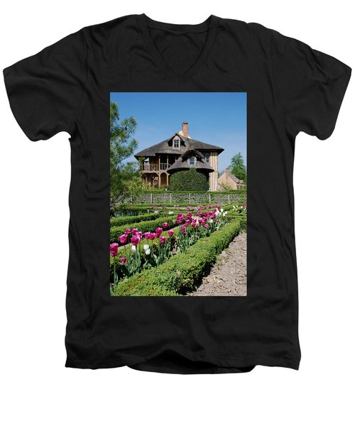 Lovely Garden And Cottage Men's V-Neck T-Shirt