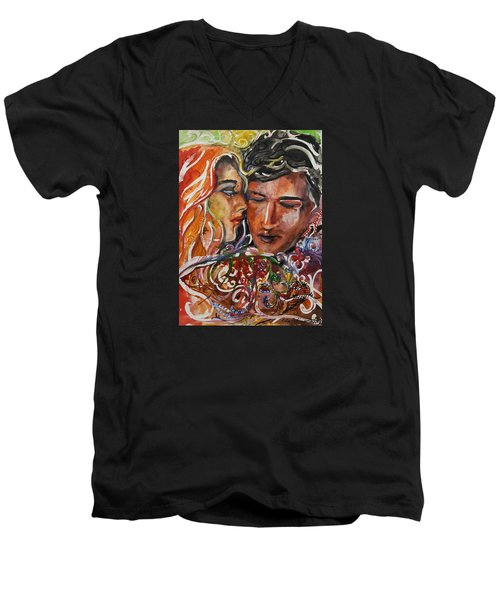 Lovers Men's V-Neck T-Shirt