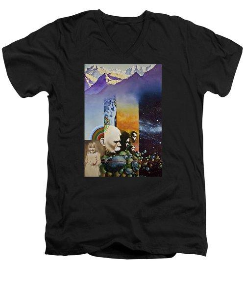 Lucid Dimensions Men's V-Neck T-Shirt