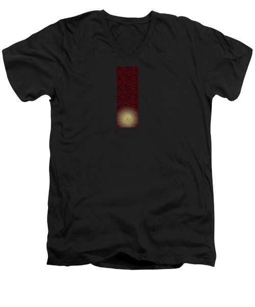 Lucky Zenfly Bi Coin Men's V-Neck T-Shirt