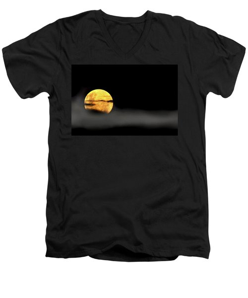 Lunar Mist Men's V-Neck T-Shirt