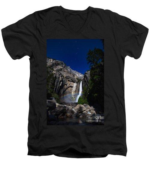 Lunar Rainbow Men's V-Neck T-Shirt