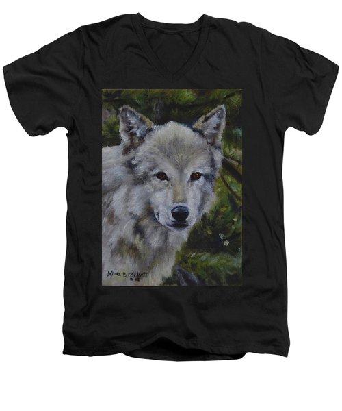 Lupine Gaze Men's V-Neck T-Shirt