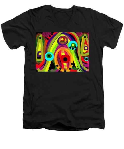 Lush For Life Men's V-Neck T-Shirt
