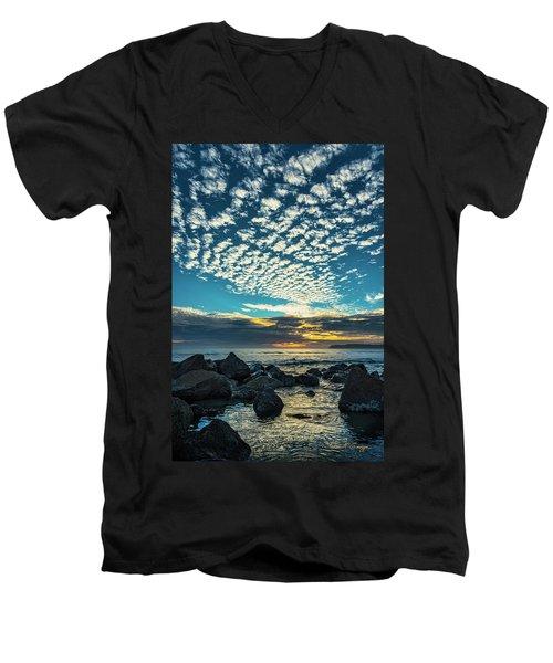 Mackerel Sky Men's V-Neck T-Shirt