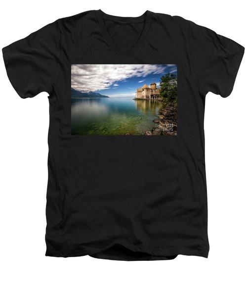 Made In Switzerland Men's V-Neck T-Shirt