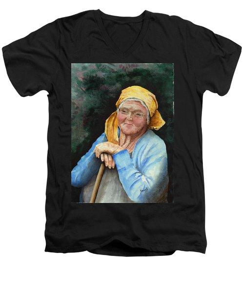 Maggie Men's V-Neck T-Shirt