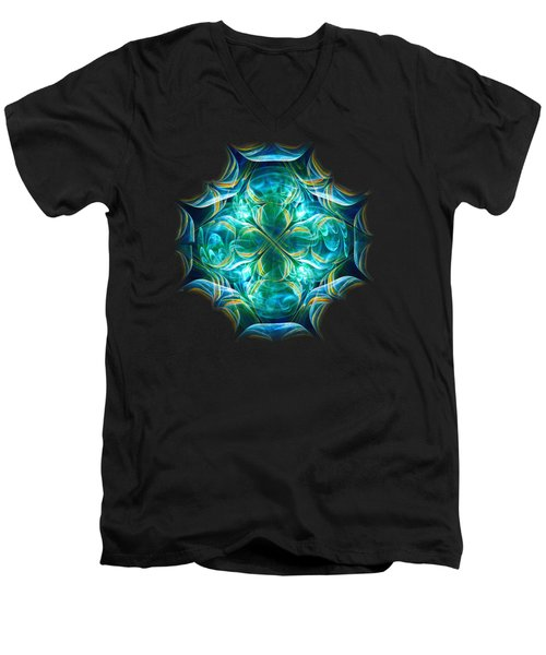 Magic Mark Men's V-Neck T-Shirt by Anastasiya Malakhova