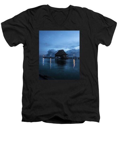 Magic Of A Night Men's V-Neck T-Shirt