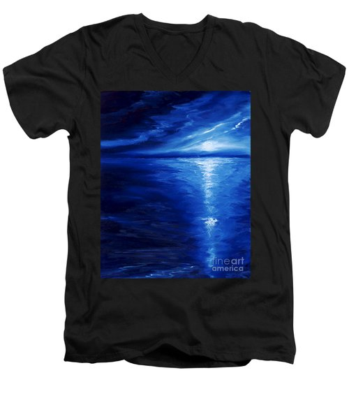 Magical Moonlight Men's V-Neck T-Shirt