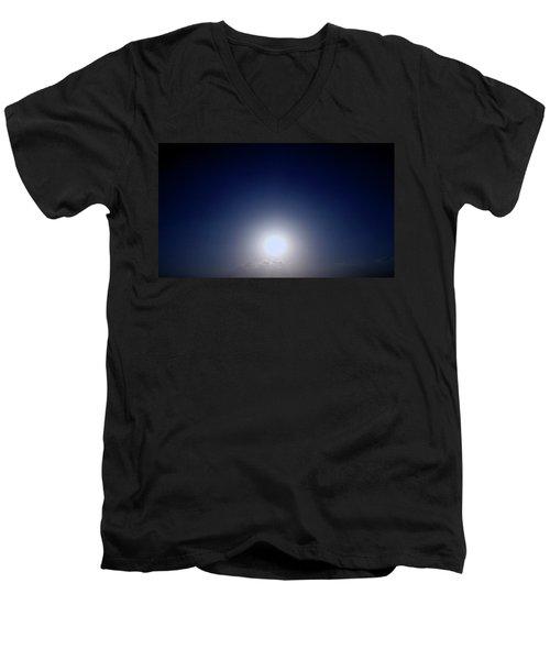 Magical Sunset In Africa Men's V-Neck T-Shirt