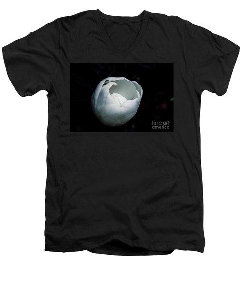 Magnolia In The Spotlight Men's V-Neck T-Shirt