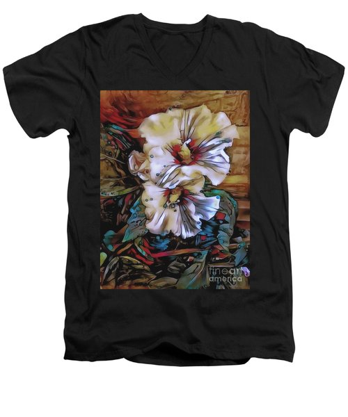 Mallow Mallow Men's V-Neck T-Shirt by Jack Torcello