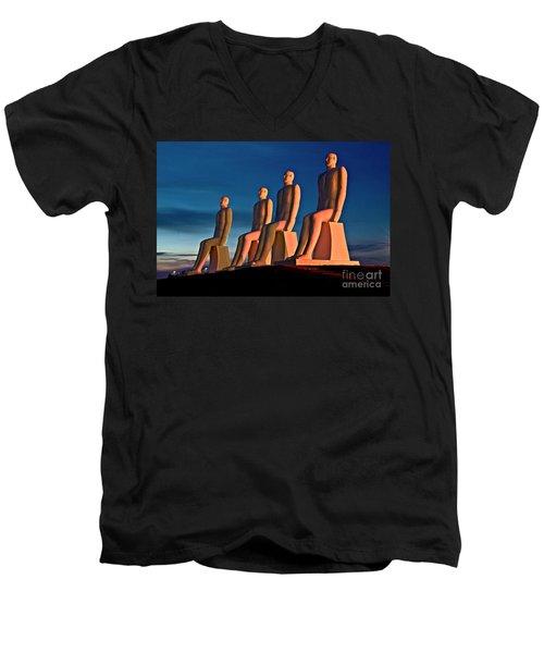 Man At Sea  Men's V-Neck T-Shirt